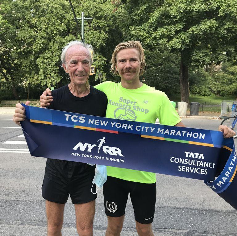 El ganador de la primera Maratón de Nueva York ha vuelto al recorrido original 50 años después