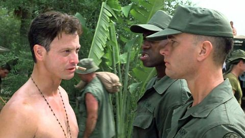 Jungle, Botany, Mouth, Adaptation, Plant, Muscle, Barechested, Soldier, Throat, Military,
