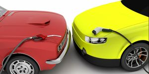 Gasoline or electric car