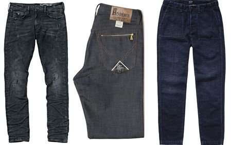 Denim, Jeans, Clothing, Pocket, Textile, Trousers, Carpenter jeans,