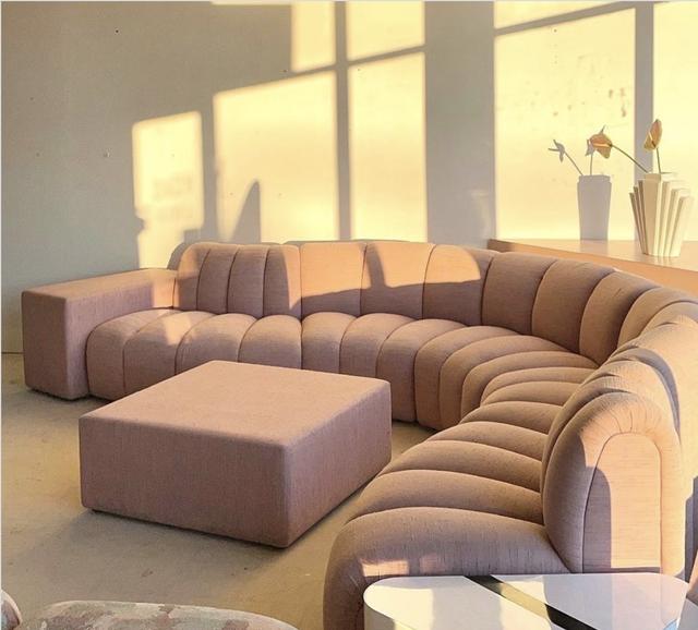 gates haus pink sofa