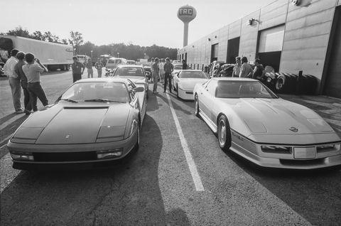 ferrari testarossa, norwood ferrarichevy gto, amg hammer, callaway corvette, motorsport design 911 turbo, keith black camaro, callaway top gun corvette
