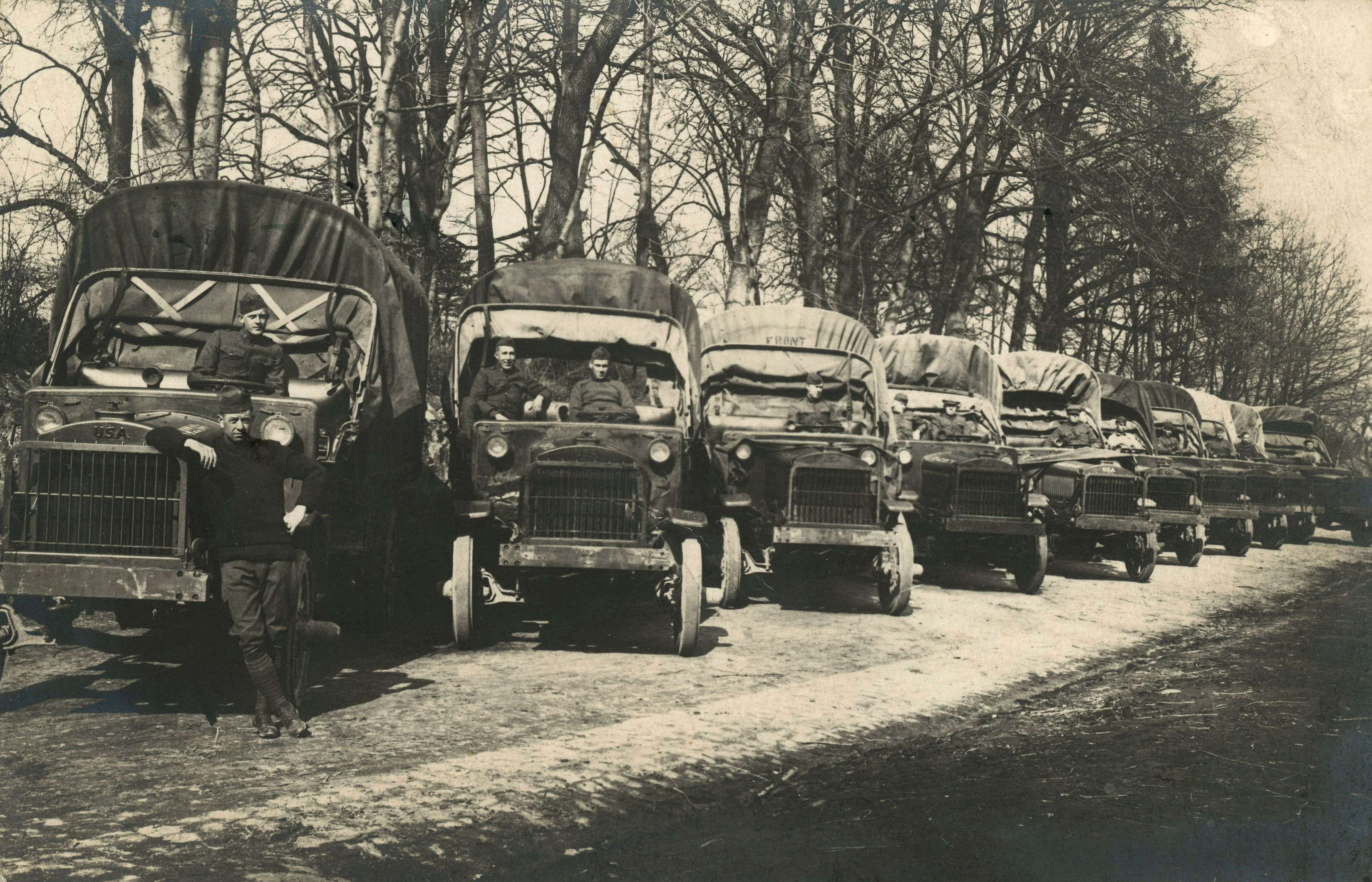 How a 1919 Army Truck Convoy Across the U.S. Helped Win WWII