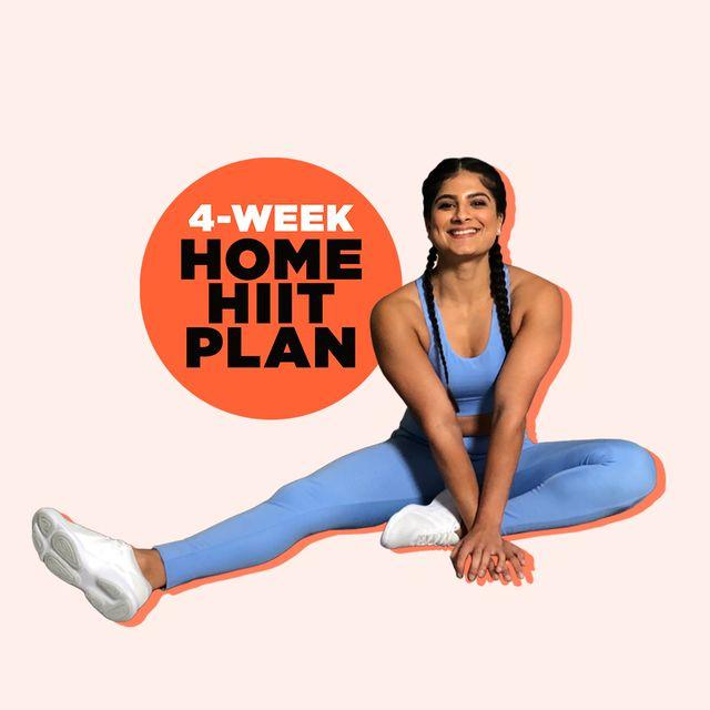 four week home hiit plan