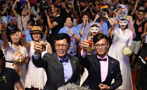 TAIWAN-POLITICS-SOCIAL-GAY-MARRIAGE