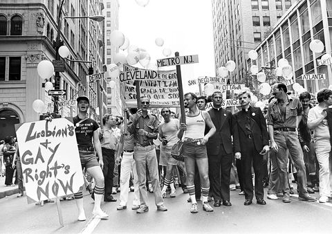 gay pride demonstration
