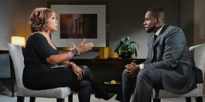 Gayle King interviews R Kelly on CBS This Morning