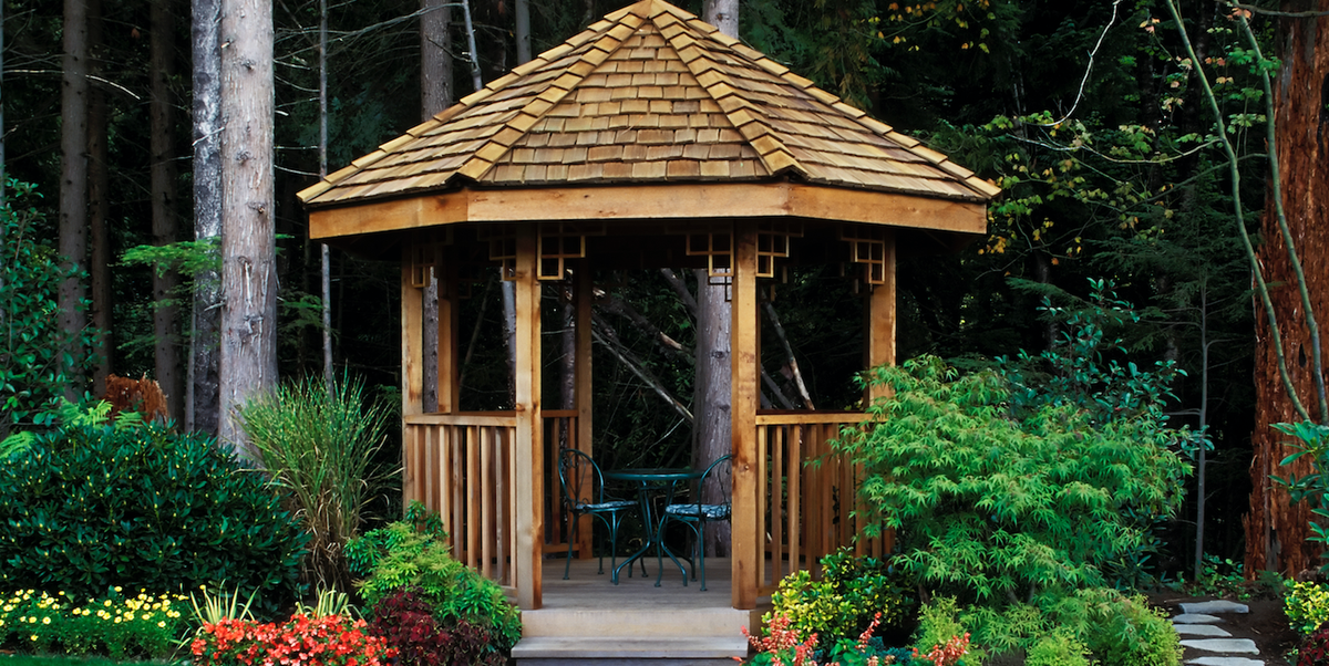 15 DIY Gazebo Ideas to Bring an Outdoor Oasis to Your Backyard