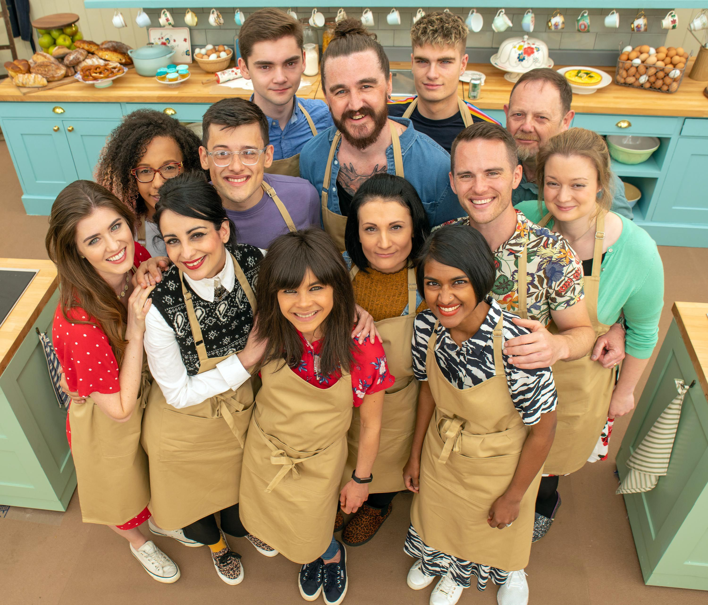 Great British Bake Off 2019 unveils contestants – and it's the youngest ever line-up