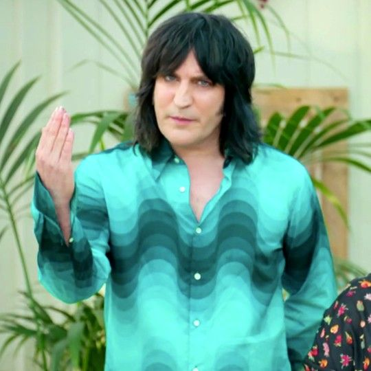 Great British Bake Off viewers were distracted this week because of Noel Fielding