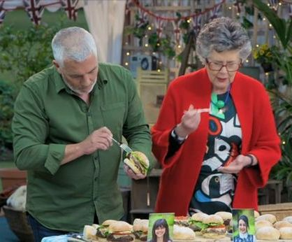 Paul Hollywood and Prue Leith - GBBO