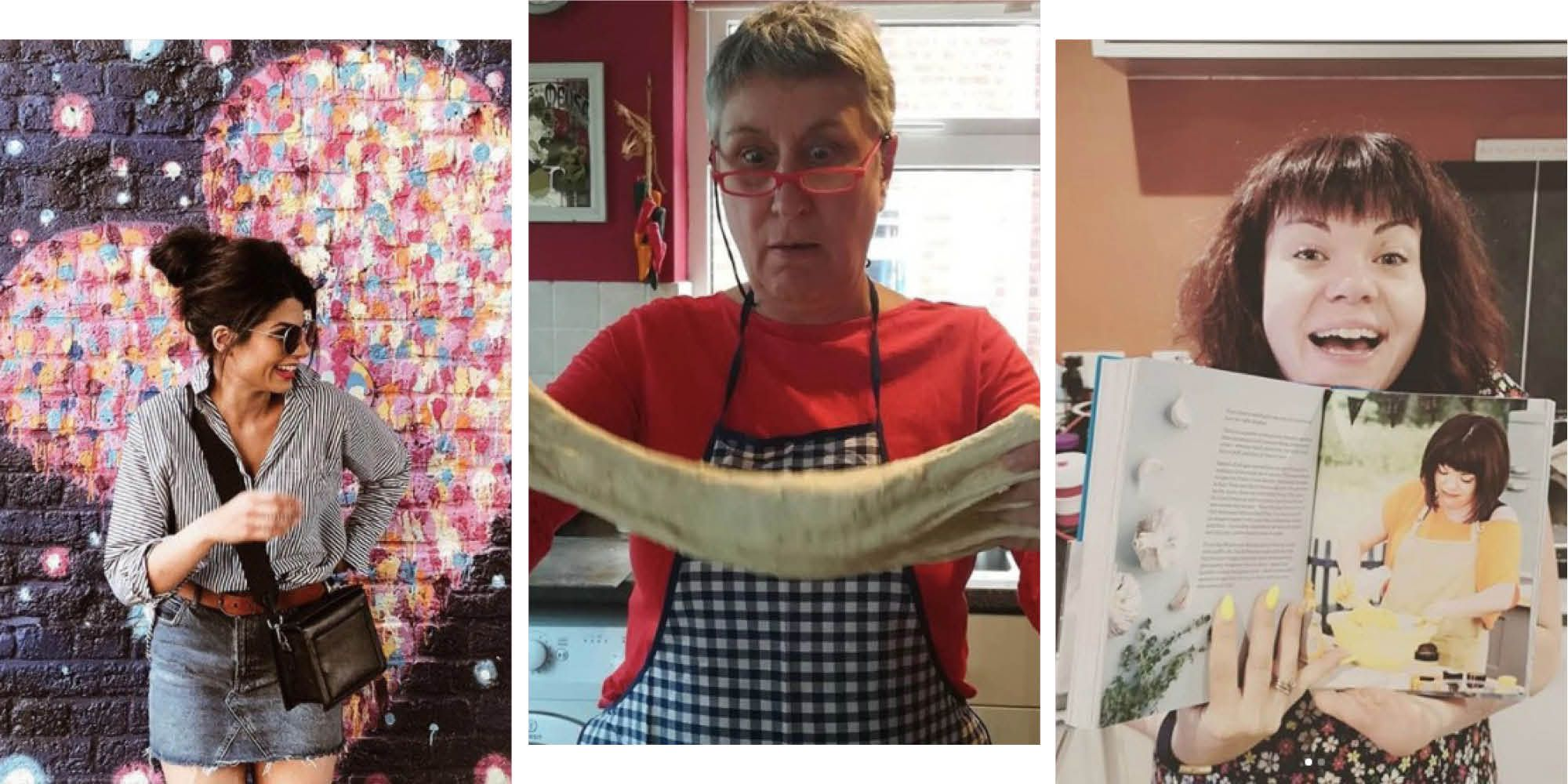 Find the Great British Bake Off contestants on social media