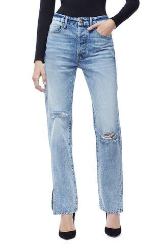 good american boyfriend jeans