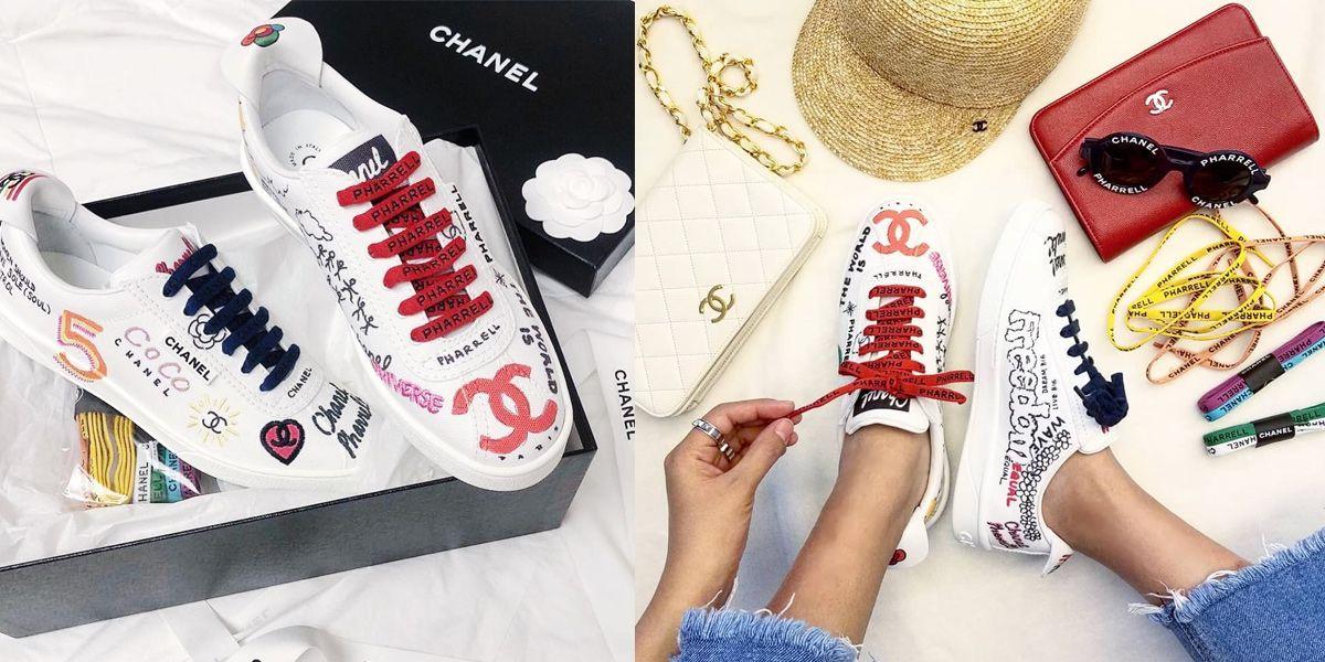 Chanel, 菲董, Pharrell Williams, 香奈兒,球鞋