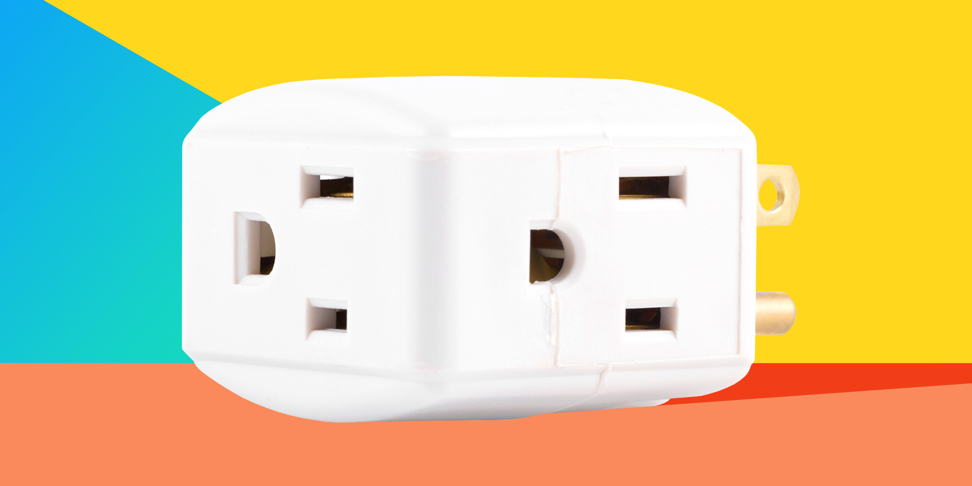 The GE Wall Tap Will Double Your Outlets for Just $5