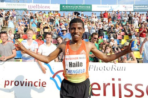 Haile Gebrselassie's World Record Marathon Fueling Plan
