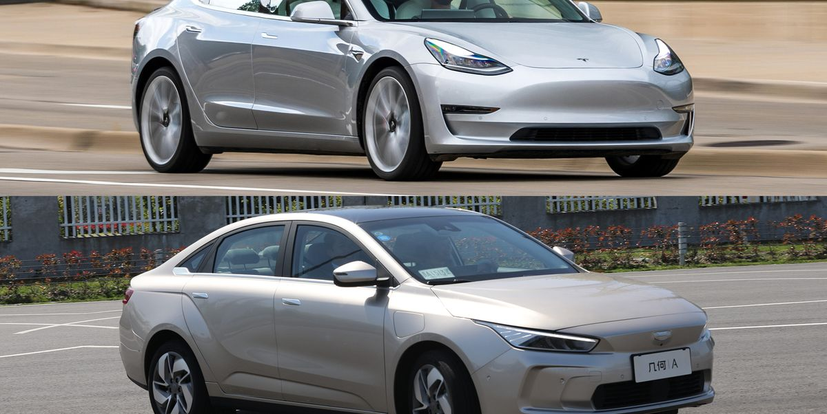 Infiniti Lease Deals >> Geely Geometry A, New Chinese EV, vs. the Tesla Model 3 ...