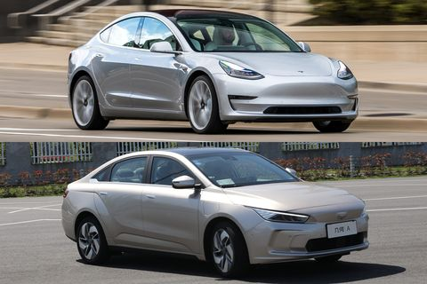 How Does The Geely Geometry A Measure Up To Tesla Model 3