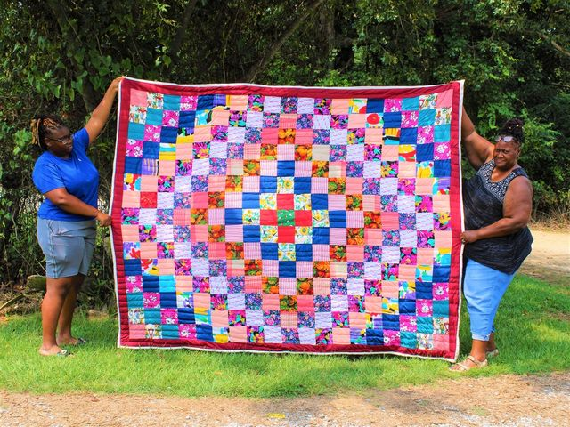gees bend artistic quilt katie mae etsy