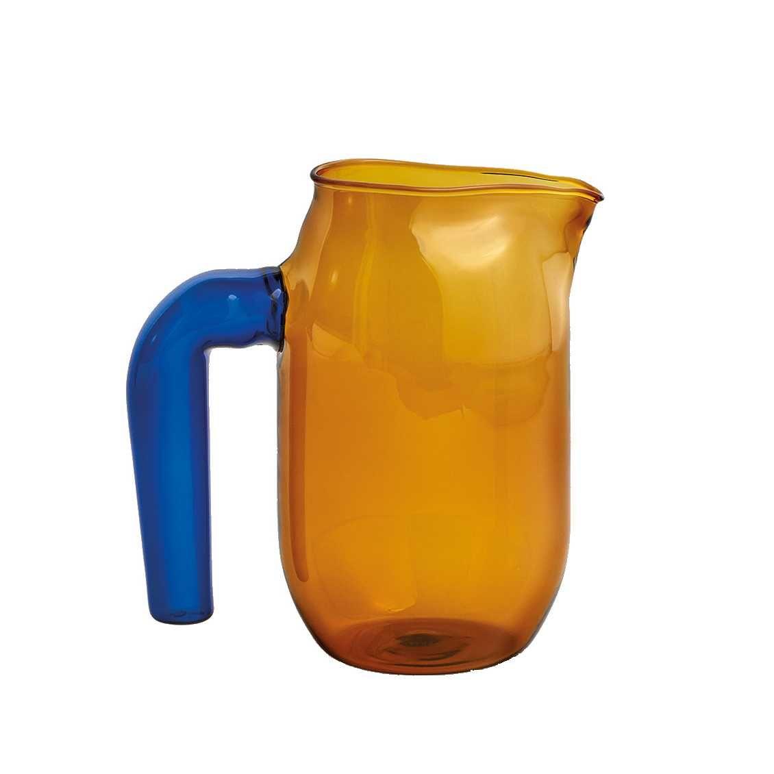 Gekleurd glas karaf