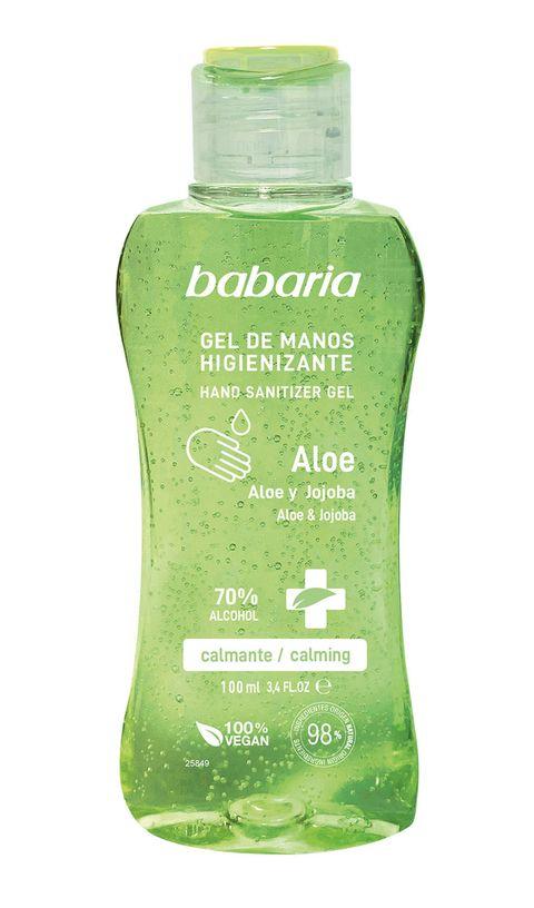 gel de manos higienizante babaria aloe