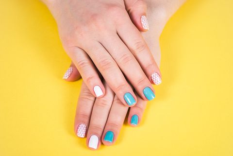 gel manicure nail polish