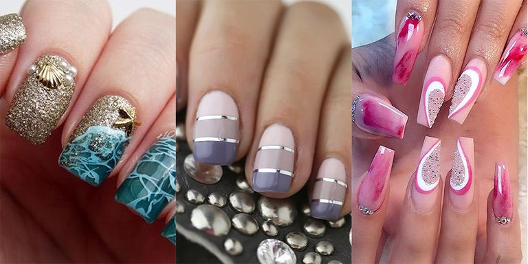 gel manicure designs - Gel Nail Design Ideas