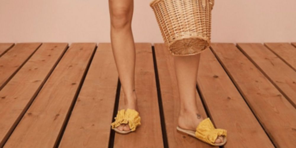 gele-slippers