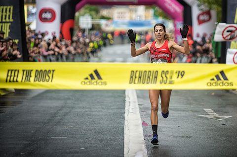Gema Barrachina gana la Behobia-San Sebastián