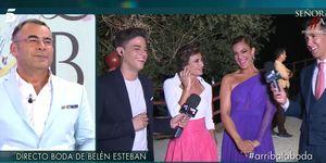 Gema López y Raquel Bollo, Boda Belén Esteban