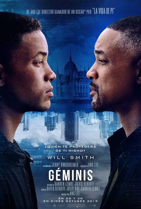 Will Smith conoce a su doble (joven) en el primer tráiler de 'Géminis' - 'Gemini Man'first trailer