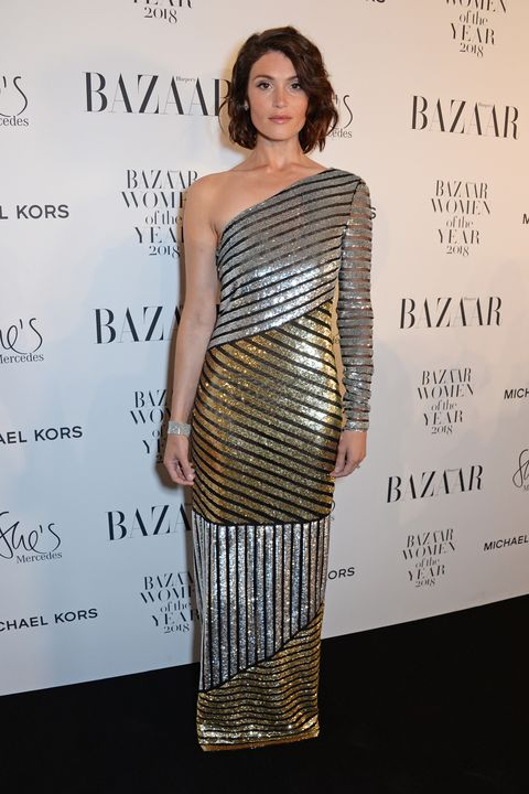 Gemma Arterton, Harper's Bazaar Women Of The Year Awards 2018