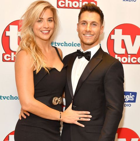 Strictly's Gemma Atkinson and Gorka Marquez share first photo of baby daughter