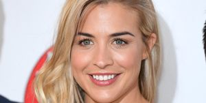 gemma atkinson cucumber water - women's health uk