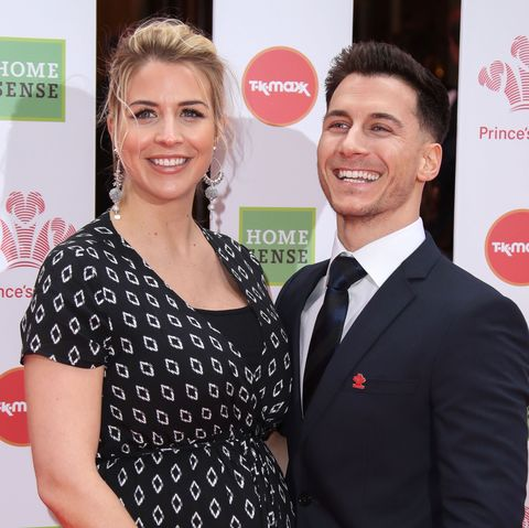 Gemma Atkinson and Gorka Marquez reveal their daughter's name as they share first pictures of the newborn
