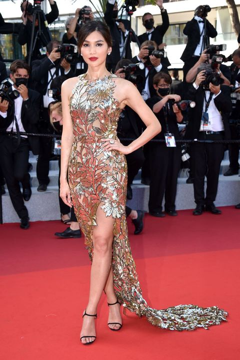 """""""oss 117 from africa with love final screening closing ceremony red carpet the 74th annual cannes film festival"""