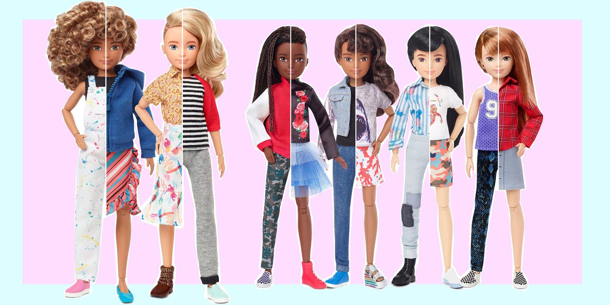 Che benessere le bambole gender fluid di Mattel