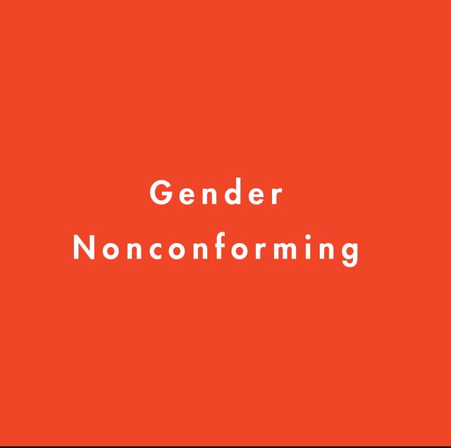 gender nonconforming definition