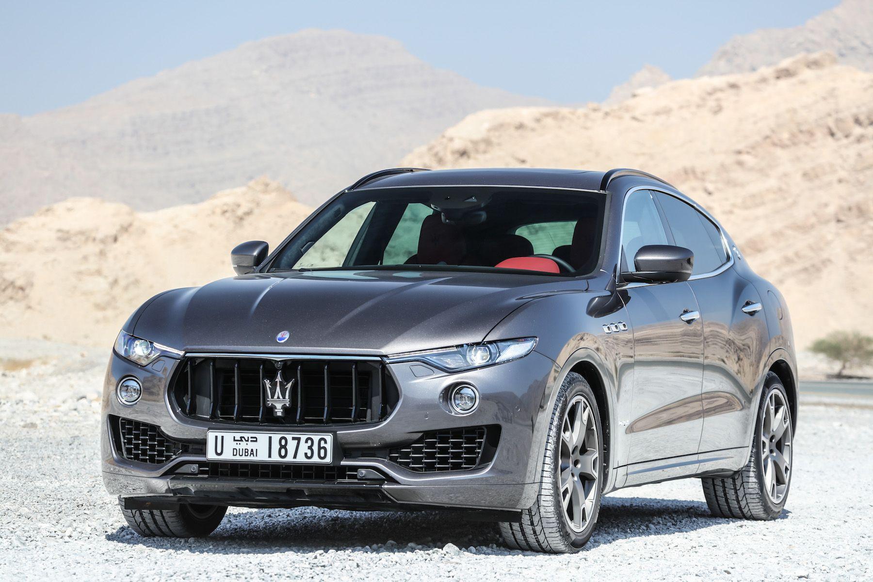 Maserati levante zegna