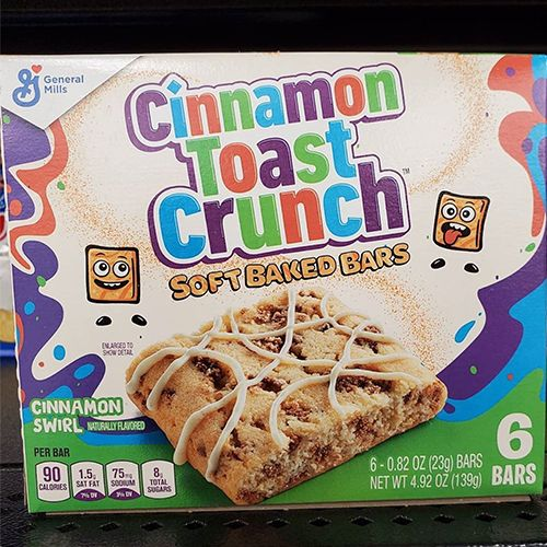 cinnamon toast crunch soft baked bars from general mills