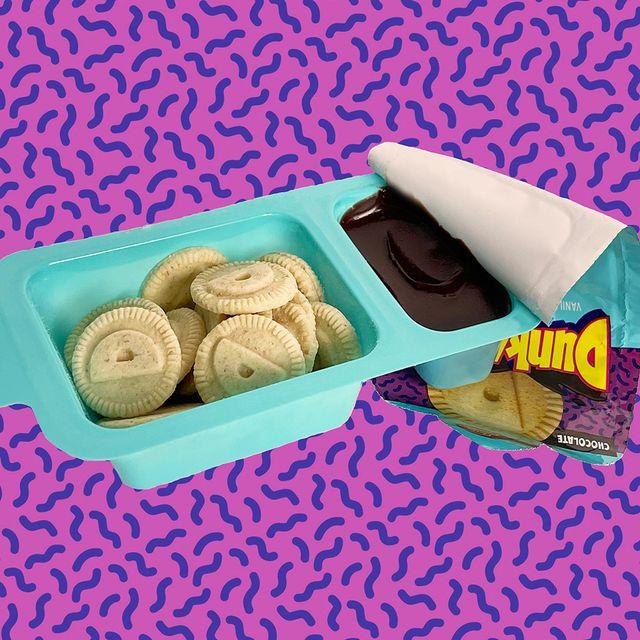 general mills dunkaroos vanilla cookies and chocolate frosting snack packs 2021