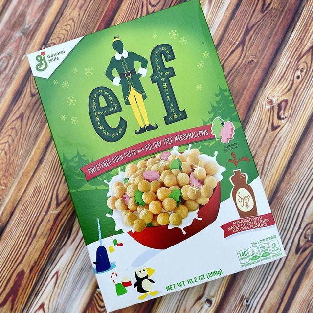 general mills elf marshmallow cereal