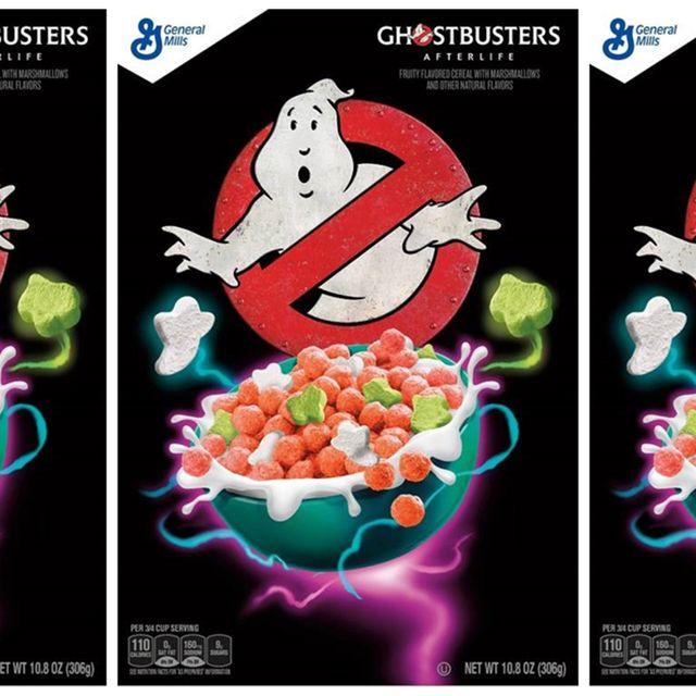 general mills 'ghostbusters afterlife' cereal