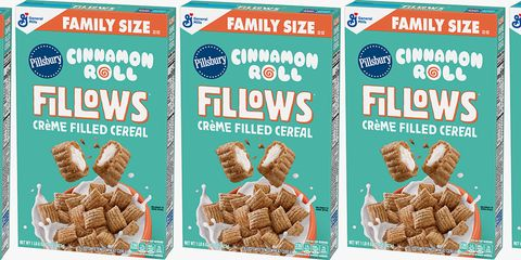 Move Over, Cinnamon Toast Crunch — Cinnamon Roll Fillows Cereal Is Filled With Crème