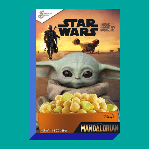 general mills star wars mandalorian cereal