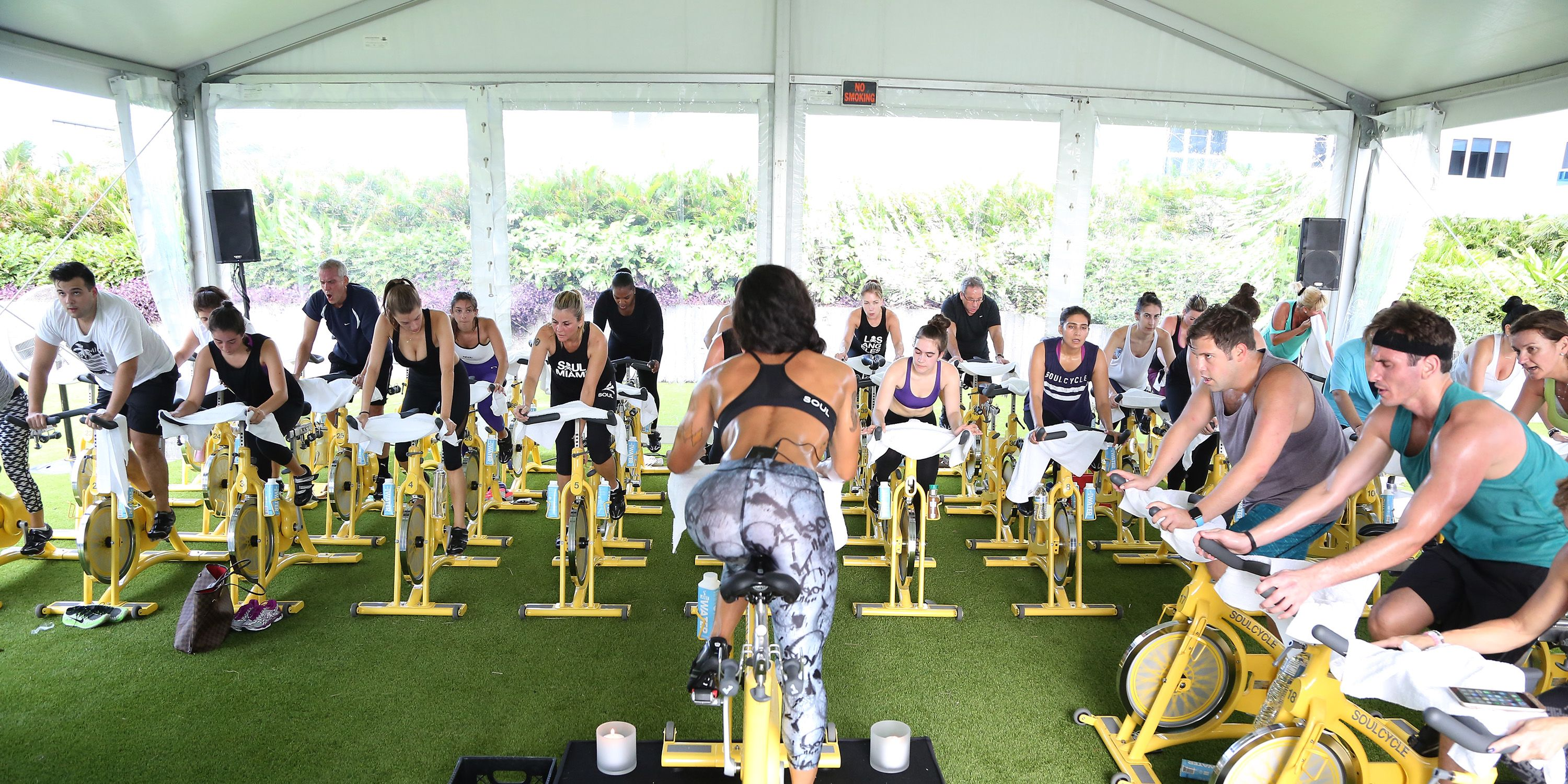 SoulCycle And Artist Gregory Siff Art Meets SOUL Experience