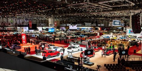 89th Geneva International Motor Show Press Days