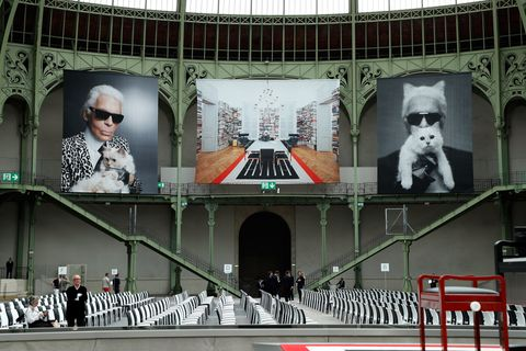 """Karl For Ever"" At Le Grand Palais"