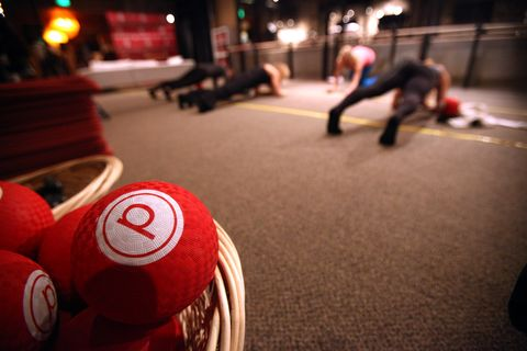 Pure Barre Hosts Pop-up Studio - Day 2 - 2015 Park City