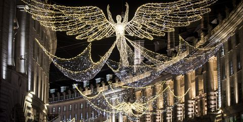 Christmas Lights Switch Ons in Britain, Regent Street